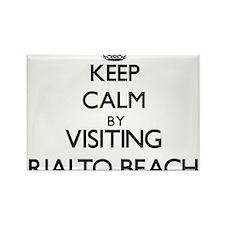 Keep calm by visiting Rialto Beach Washington Magn