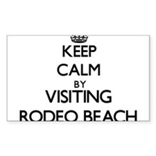 Keep calm by visiting Rodeo Beach California Stick