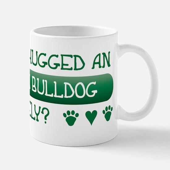 Hugged Bulldog Mug