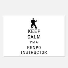 Keep Calm I'm a Kenpo Instructor Postcards (Packag