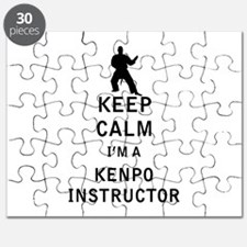 Keep Calm I'm a Kenpo Instructor Puzzle