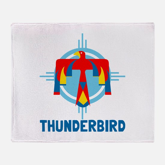 Thunderbird Throw Blanket
