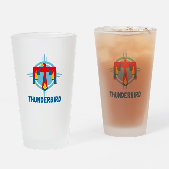 Thunderbird Drinking Glass