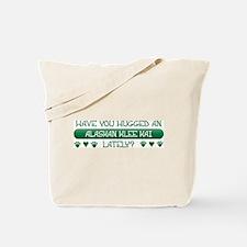 Hugged Klee Kai Tote Bag