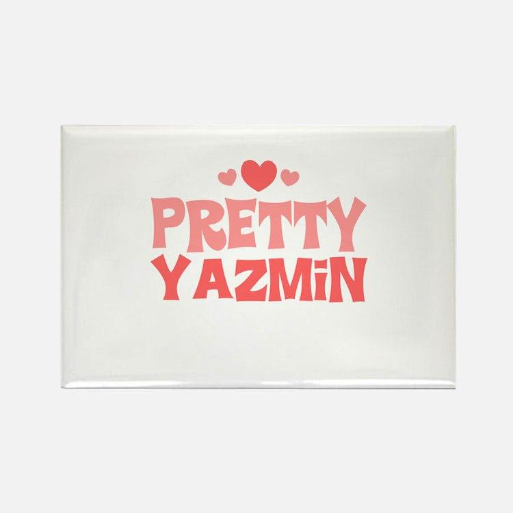 Yazmin Rectangle Magnet