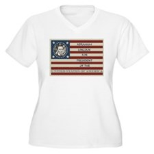 Vote for President Plus Size T-Shirt