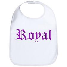 Royal (purple font) Bib