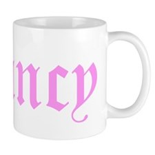 Fancy (pink font) Mugs