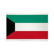 Kuwait Rectangle Magnet
