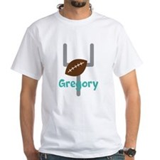 Personalized Football Goal T-Shirt