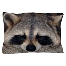 Raccoon Pillow Case