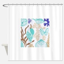Tropical Wedding Shower Curtains