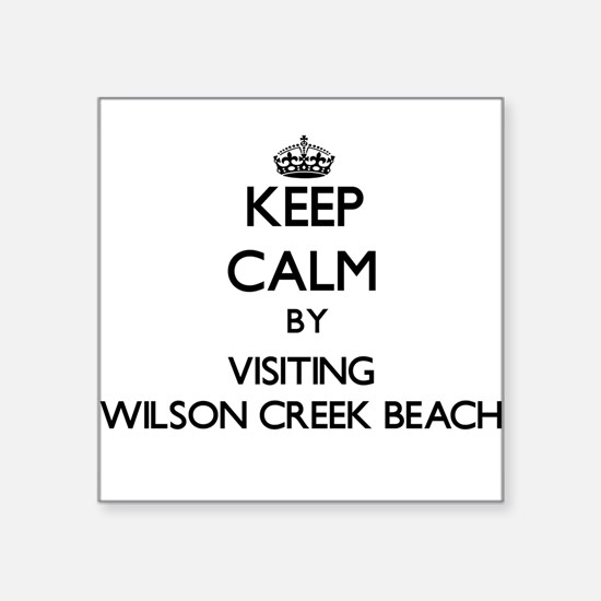 Keep calm by visiting Wilson Creek Beach Californi