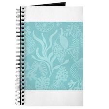 Blue Undersea Coral Shells Journal