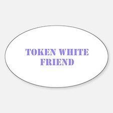 Token White Friend purple Decal