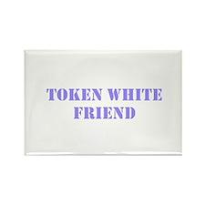 Token White Friend purple Magnets