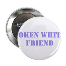 "Token White Friend purple 2.25"" Button"
