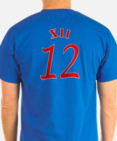 Football Is Red White And Blue T-Shirt