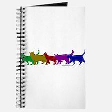 Rainbow cats Journal