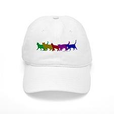 Rainbow cats Baseball Cap