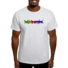Rainbow cats T-Shirt