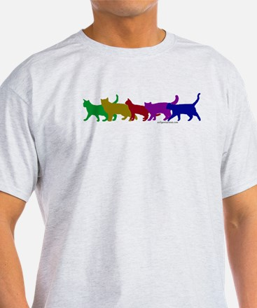 Rainbow cats T-Shirt
