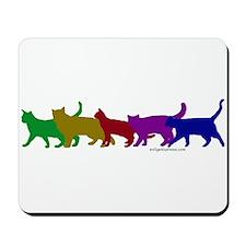 Rainbow cats Mousepad