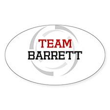 Barrett Oval Decal