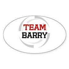 Barry Oval Decal