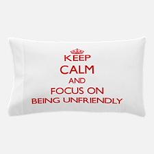 Unique Against Pillow Case