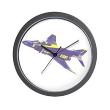 Unique Jet blue Wall Clock