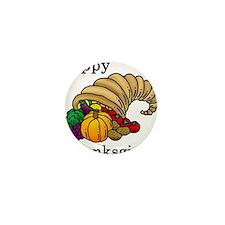 Cute Thanksgiving Mini Button