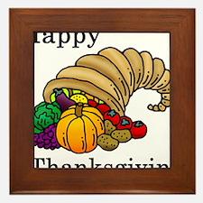Unique Thanksgiving Framed Tile