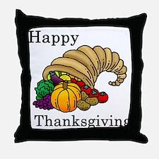 Cute Thanksgiving Throw Pillow