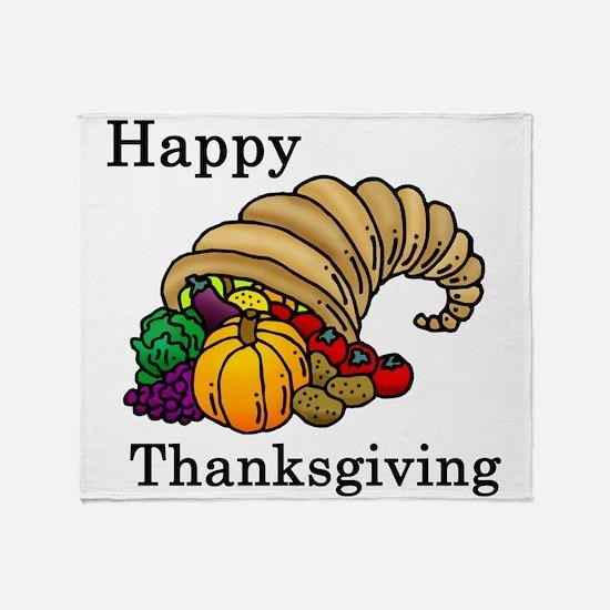 Cool Thanksgiving Throw Blanket