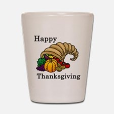Cute Thanksgiving Shot Glass