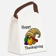 Cute Thanksgiving Canvas Lunch Bag