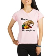 Funny Thanksgiving Performance Dry T-Shirt