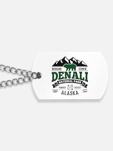Denali Vintage Dog Tags