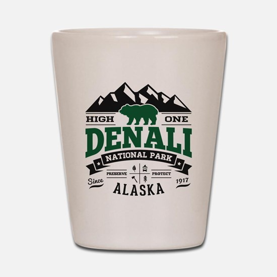 Denali Vintage Shot Glass