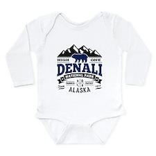 Denali Vintage Long Sleeve Infant Bodysuit