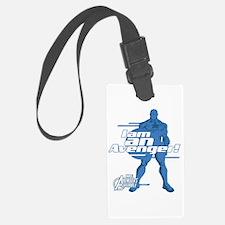Avenger Captain America Luggage Tag