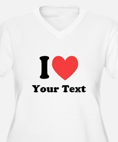 I Heart Plus Size T-Shirt