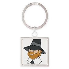 Pilgrim man Keychains