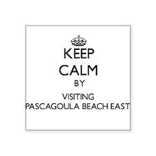 Keep calm by visiting Pascagoula Beach East Missis