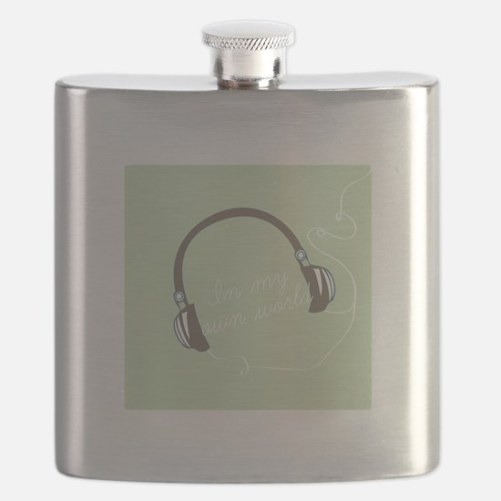 I'm My Own World Flask