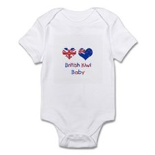 British Kiwi Baby Infant Bodysuit