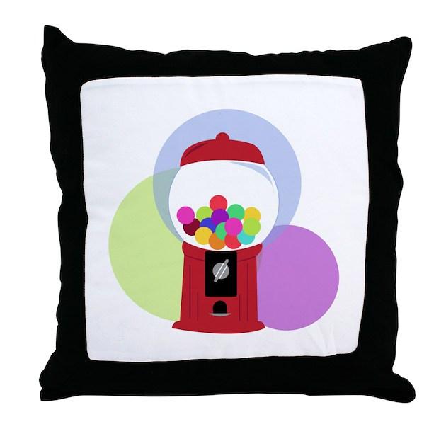 gumball machine pillow
