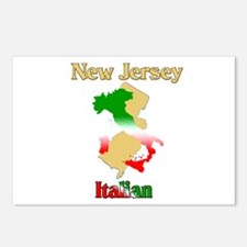 New Jersey Italian Postcards (Package of 8)