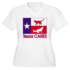 TexasCARESPocket Plus Size T-Shirt
